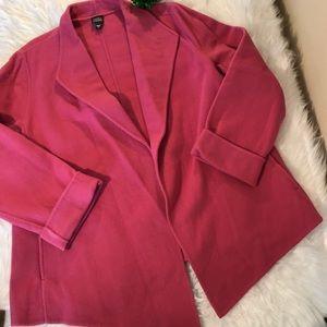 Eileen Fisher Sz Large Fuschia Pink Jacket